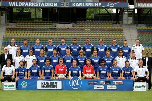 KSC-Kader Mannschaft 2011/2012