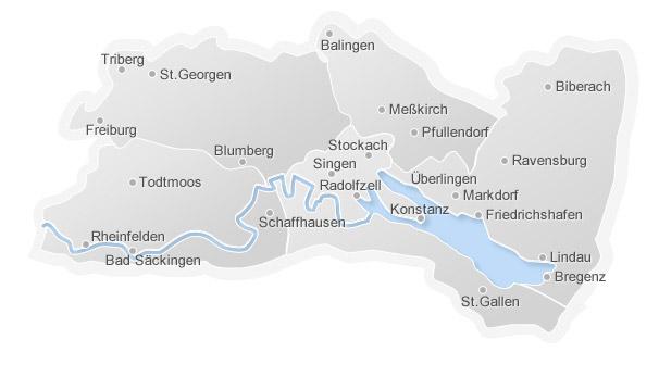 Regionalkarte