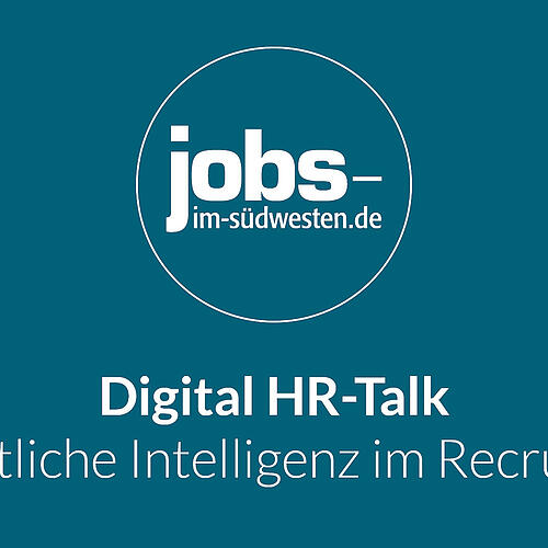 HR Digital Talk - KI im Recruiting