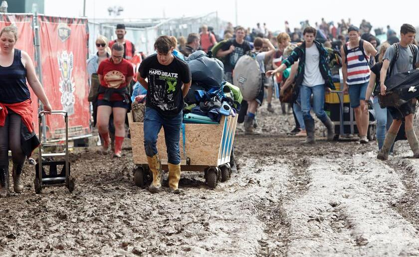 Mendig Rock Am Ring Unwetter